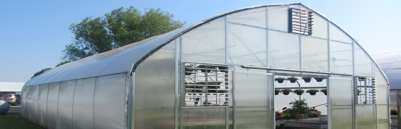 Solo or Gutter Connected Greenhouses